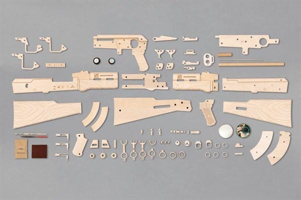 Игрушка TARG модель для сборки АК - фото 6759