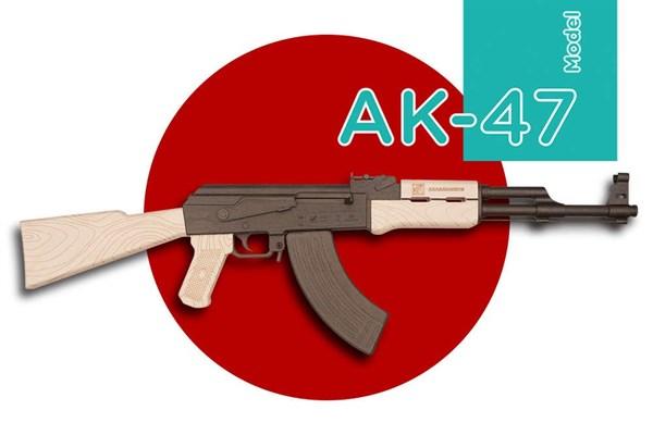 Игрушка TARG модель для сборки АК - фото 6763