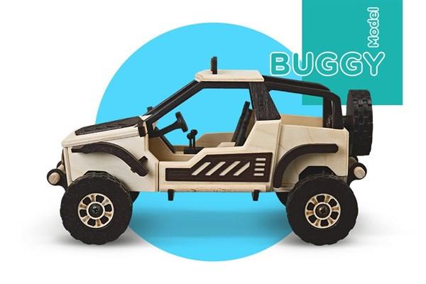 Игрушка TARG Модель для сборки BUGGY - фото 6777