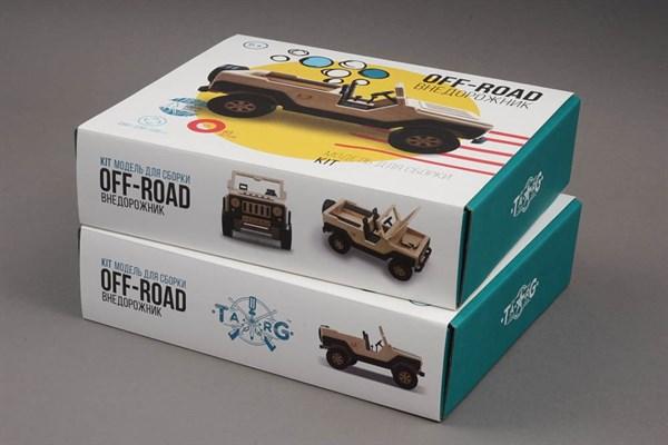Игрушка TARG Модель для сборки OFF-ROAD - фото 6784