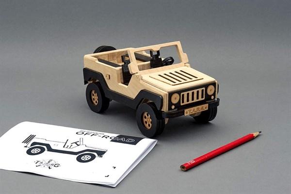 Игрушка TARG Модель для сборки OFF-ROAD - фото 6786