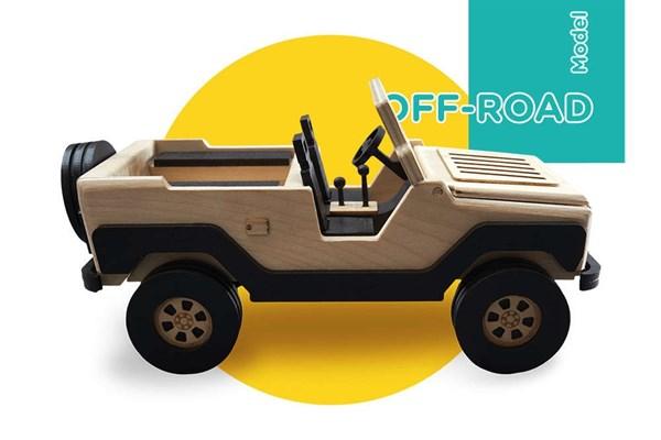 Игрушка TARG Модель для сборки OFF-ROAD - фото 6787