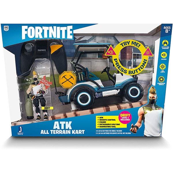 Игрушка Fortnite - машина на пульте управления с фигуркой - фото 6859