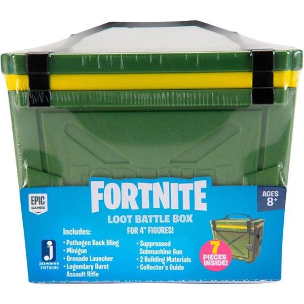 Игрушка Fortnite - сундук с аксессуарами в ассортименте 2 волна - фото 6873