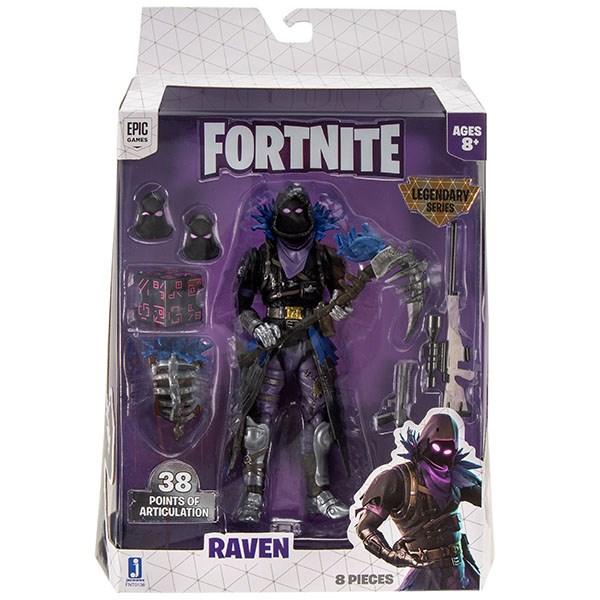 Игрушка Fortnite - фигурка героя Raven с аксессуарами (LS) - фото 6880