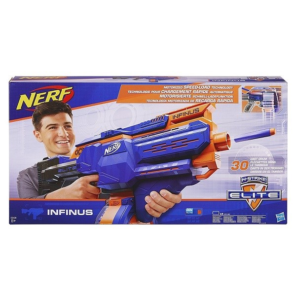 Игрушка Hasbro Nerf бластер НЁРФ ЭЛИТ Инфинус - фото 7538