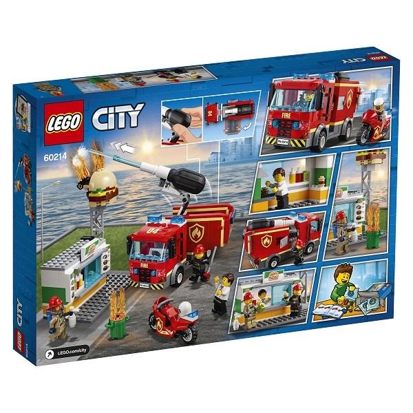 Игрушка Город Пожарные: Пожар в бургер-кафе - фото 7569
