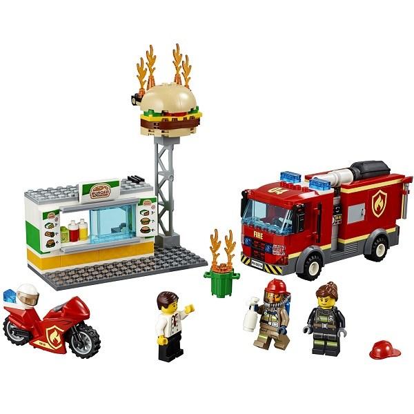 Игрушка Город Пожарные: Пожар в бургер-кафе - фото 7570