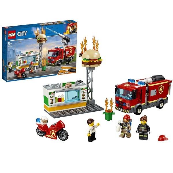 Игрушка Город Пожарные: Пожар в бургер-кафе - фото 7571