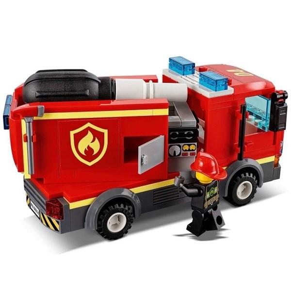 Игрушка Город Пожарные: Пожар в бургер-кафе - фото 7572