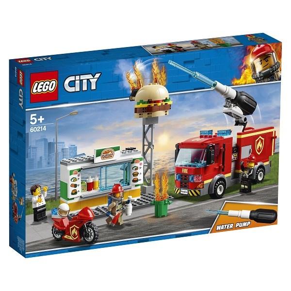 Игрушка Город Пожарные: Пожар в бургер-кафе - фото 7574