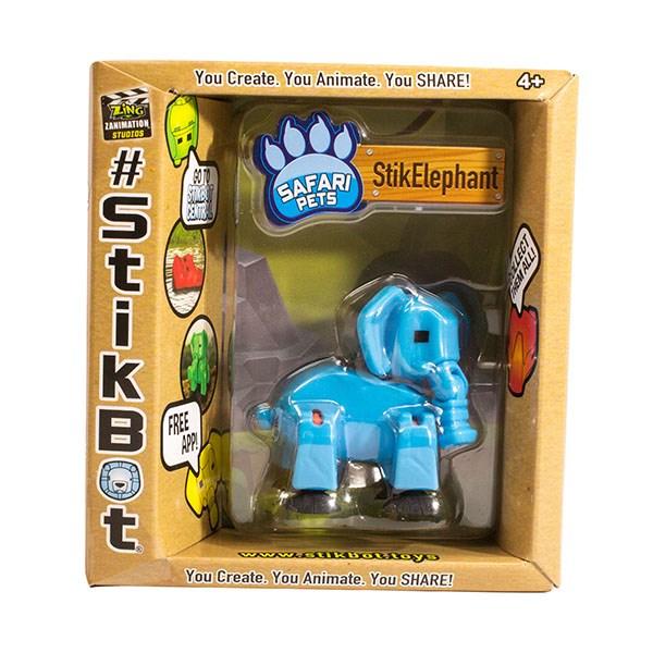 Игрушка Stikbot Сафари фигурка питомца, в ассортименте - фото 7647