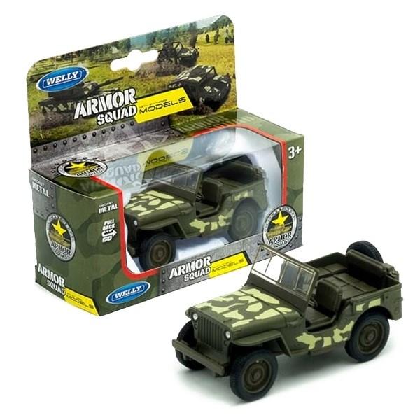 Игрушка военный автомобиль - фото 7693