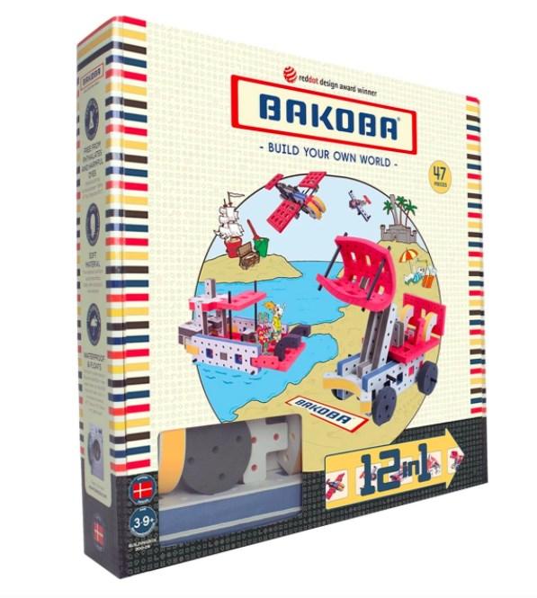 Мягкий конструктор BAKOBA (экскаватор) - фото 7743