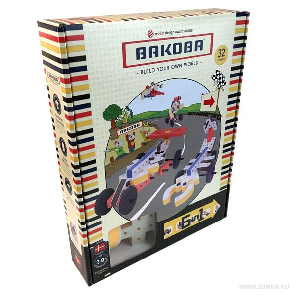Игрушка-конструктор BAKOBA(машина) - фото 7744