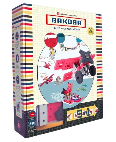 Игрушка -конструктор BAKOBA (самолет) - фото 7756