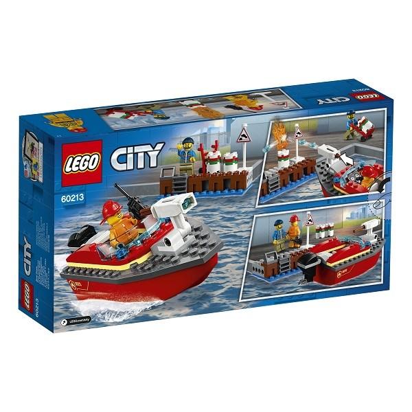 Игрушка Город Пожарные: Пожар в порту - фото 7771