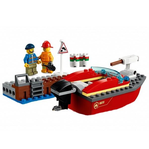 Игрушка Город Пожарные: Пожар в порту - фото 7773