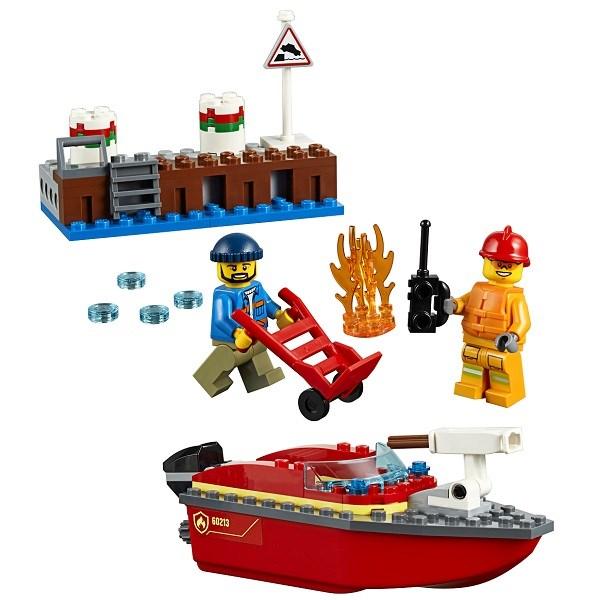 Игрушка Город Пожарные: Пожар в порту - фото 7775