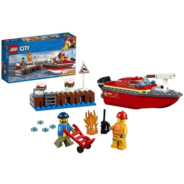 Игрушка Город Пожарные: Пожар в порту - фото 7776
