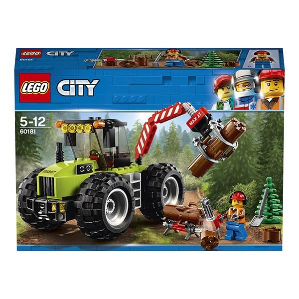 Игрушка Город Лесной трактор - фото 7813