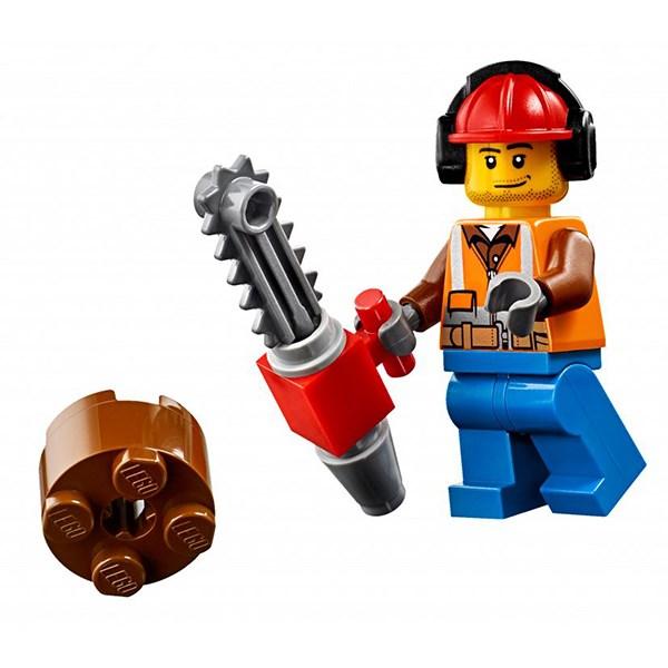 Игрушка Город Лесной трактор - фото 7815
