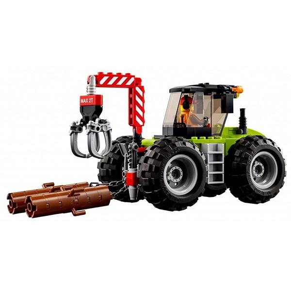 Игрушка Город Лесной трактор - фото 7817