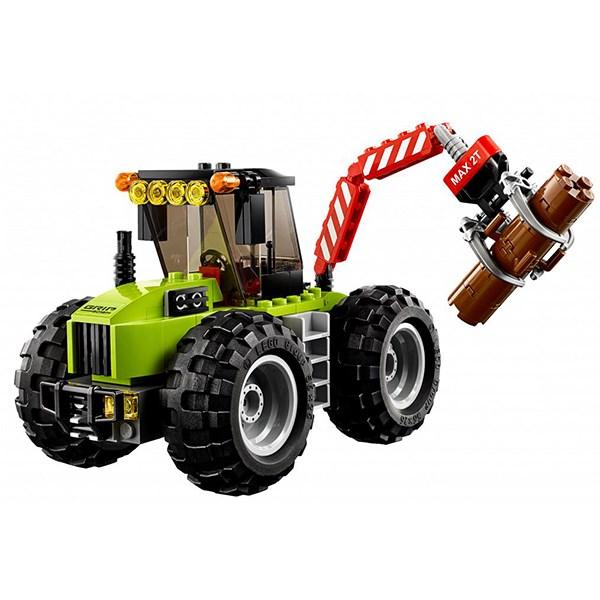Игрушка Город Лесной трактор - фото 7818