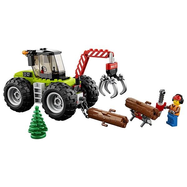 Игрушка Город Лесной трактор - фото 7819