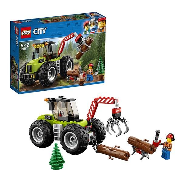 Игрушка Город Лесной трактор - фото 7820