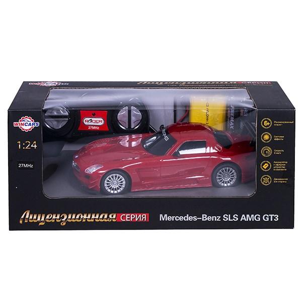 Wincars Mercedes Benz SLS AMG GT3 (лицензия), Р/У, масштаб 1:24, ЗУ в комплекте - фото 7840