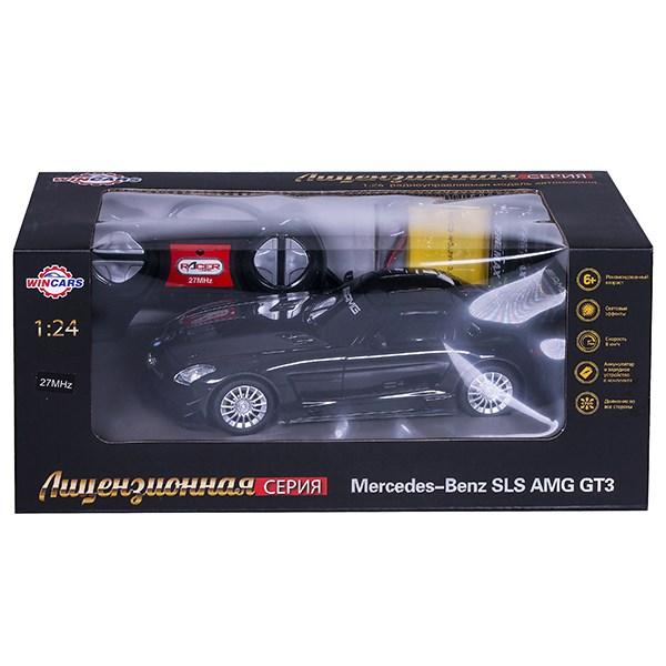 Wincars Mercedes Benz SLS AMG GT3 (лицензия), Р/У, масштаб 1:24, ЗУ в комплекте - фото 7841