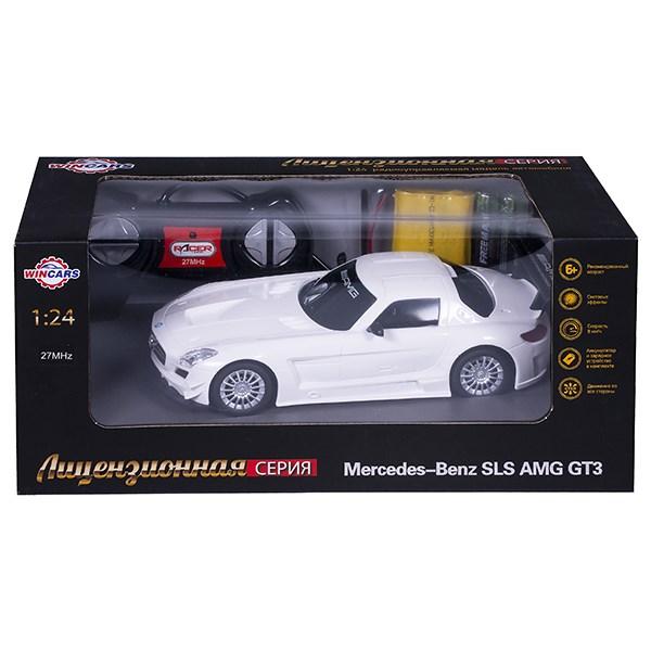 Wincars Mercedes Benz SLS AMG GT3 (лицензия), Р/У, масштаб 1:24, ЗУ в комплекте - фото 7842
