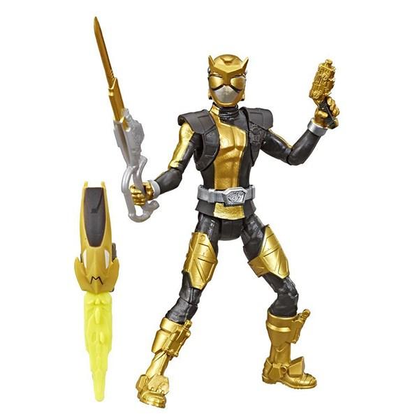 Игрушка HASBRO POWER RANGERS Золотой Рейнджер с боевым ключом - фото 7930