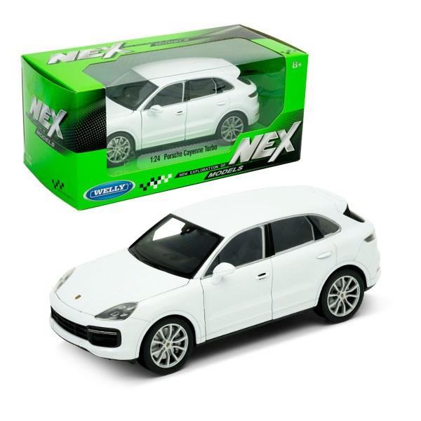 Игрушка модель машины 1:24 Porsche Cayenne Turbo - фото 7991