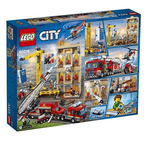 Игрушка Город Пожарные: Центральная пожарная станция - фото 7997