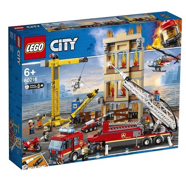 Игрушка Город Пожарные: Центральная пожарная станция - фото 7998