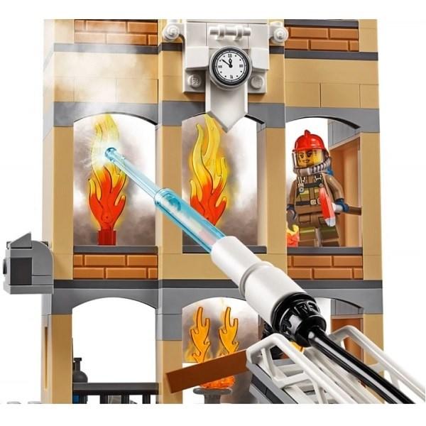 Игрушка Город Пожарные: Центральная пожарная станция - фото 7999