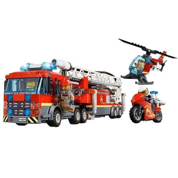 Игрушка Город Пожарные: Центральная пожарная станция - фото 8000