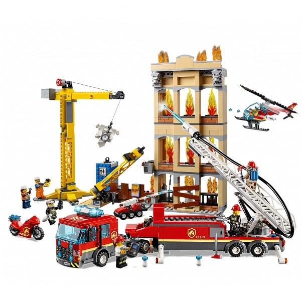 Игрушка Город Пожарные: Центральная пожарная станция - фото 8001