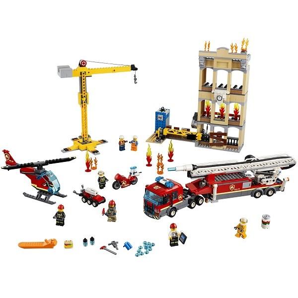 Игрушка Город Пожарные: Центральная пожарная станция - фото 8002