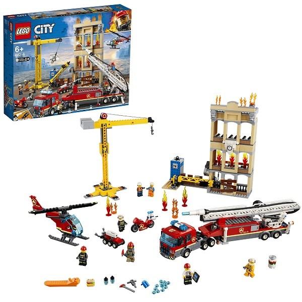 Игрушка Город Пожарные: Центральная пожарная станция - фото 8003