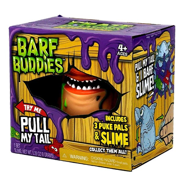 Игрушка Crate Creatures Barf Buddies монстр Мэти - фото 8040