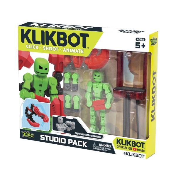 Игрушка набор Студия Klikbot - фото 8048