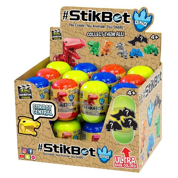 Игрушка Stikbot. Динозавр в яйце - фото 8053