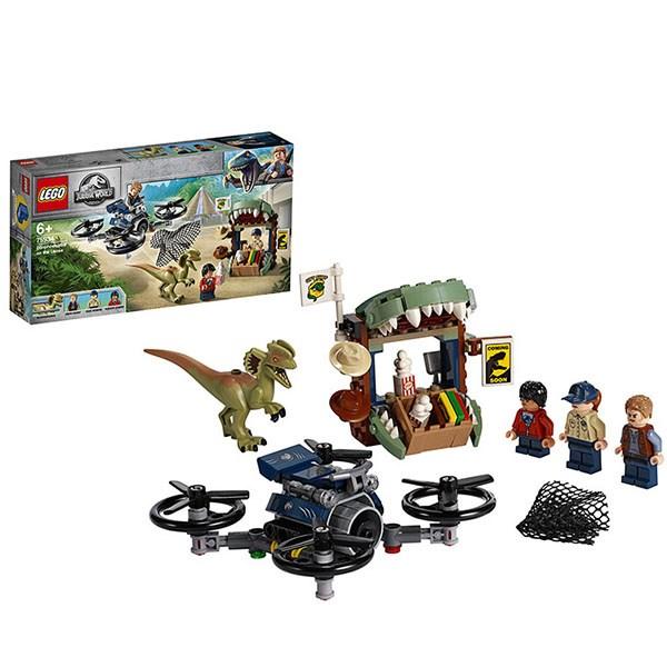 Игрушка Jurassic World Побег дилофозавра™ - фото 8073