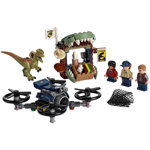 Игрушка Jurassic World Побег дилофозавра™ - фото 8078