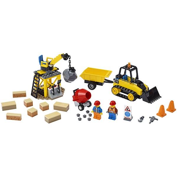 Игрушка Город Great Vehicles Строительный бульдозер - фото 8082