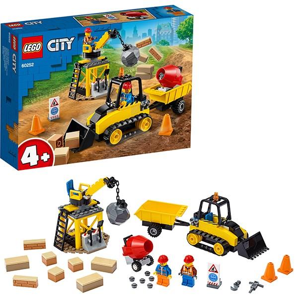Игрушка Город Great Vehicles Строительный бульдозер - фото 8083