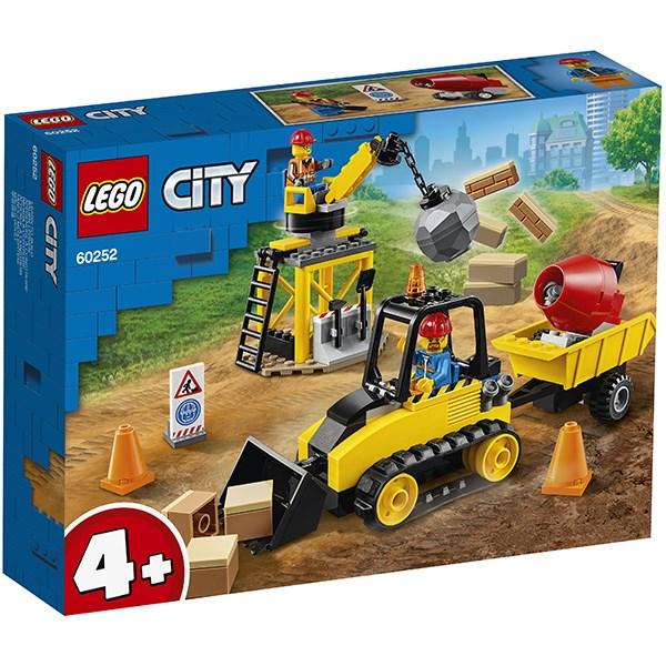 Игрушка Город Great Vehicles Строительный бульдозер - фото 8084